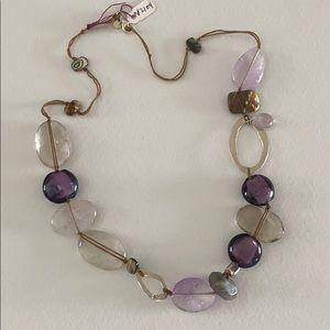 N2104 Amethyst Necklace